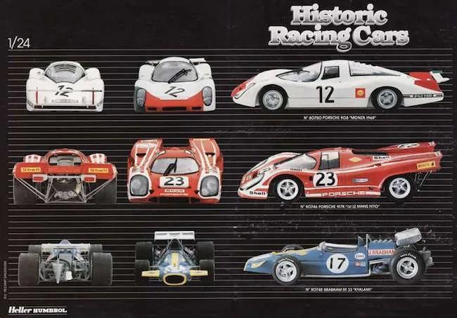Heller Porsche 917 kit