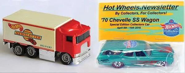 Hot Wheels Newsletter 70 Chevelle SS Wagon Hiway Hauler