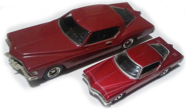Buick Riviera scale models