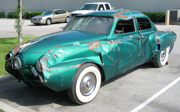 Tucker stunt car