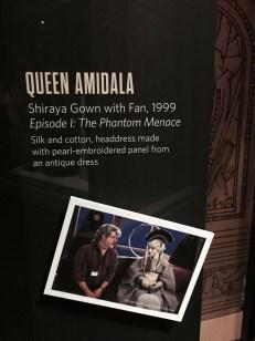 Queen Amidala with fan card