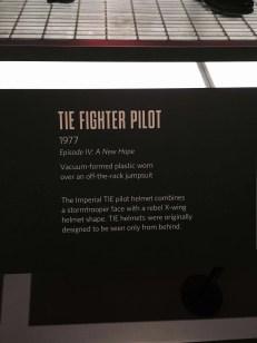 Tie Fighter Pilot 1977 card