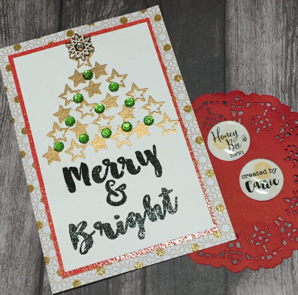Brush Grunge Christmas Card