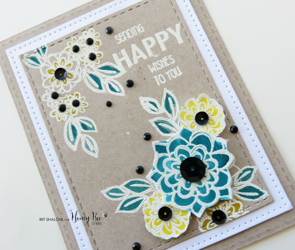 Sending wishes card with Irit