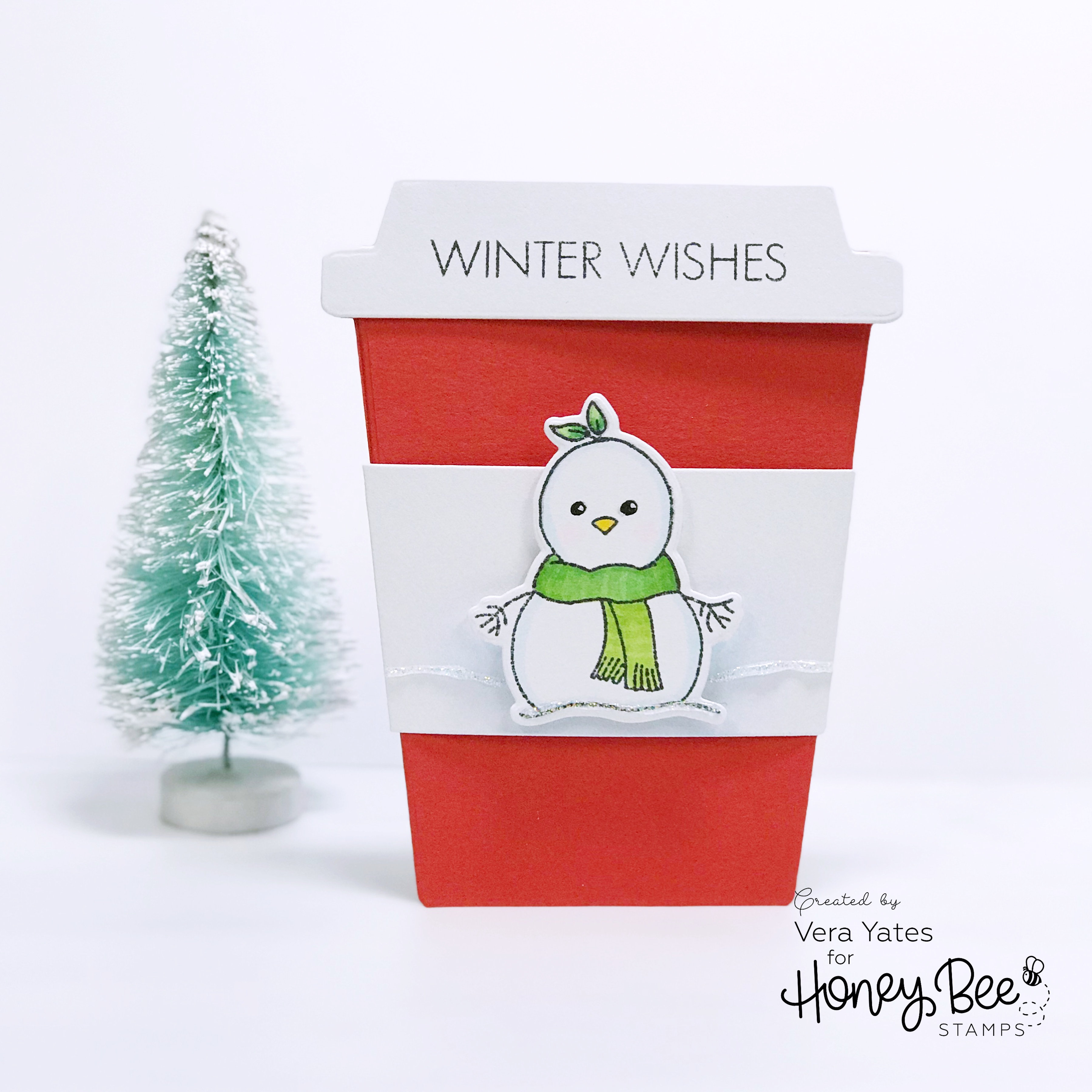 Winter Wishes Gift Card Holder