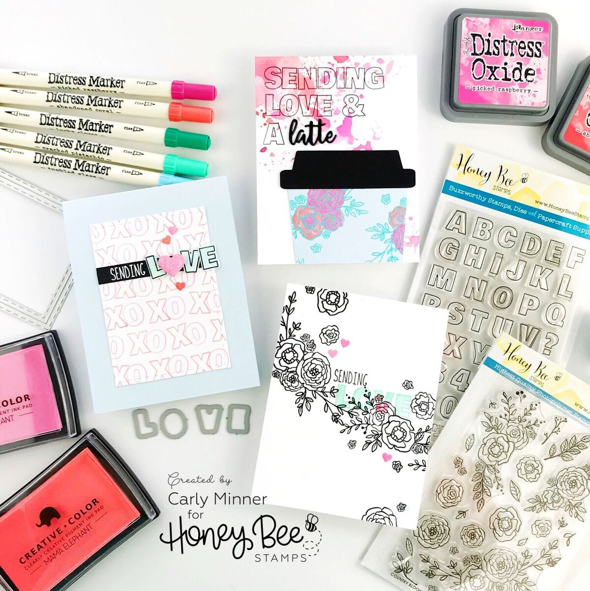 Three Reasons Every Stamper Needs An Alphabet Set!!
