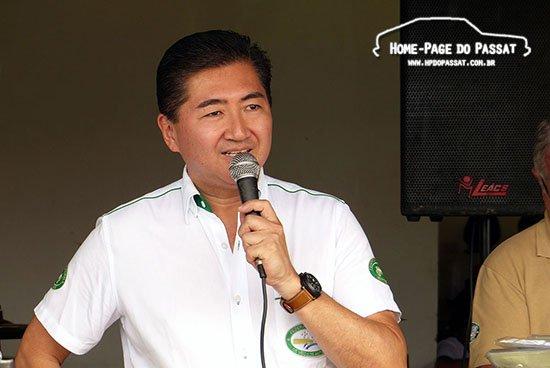 Presidente da FBVA, Roberto Suga