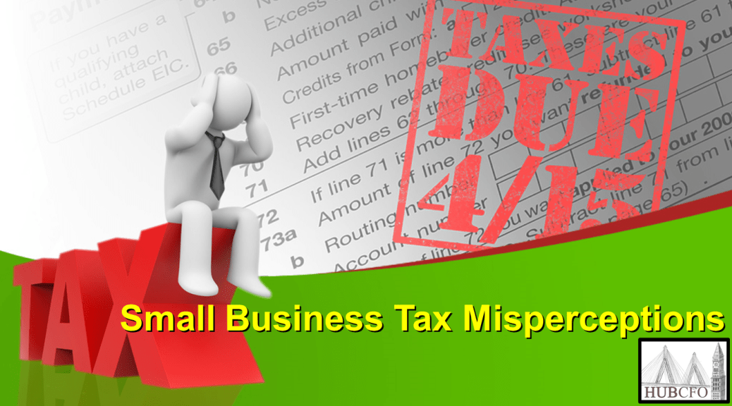 Small Business Tax Misperceptions