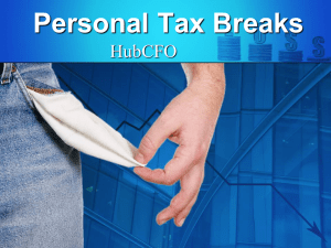 Overlooked Tax Breaks for Individuals