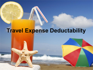 Turn Your Vacation into a Deduction