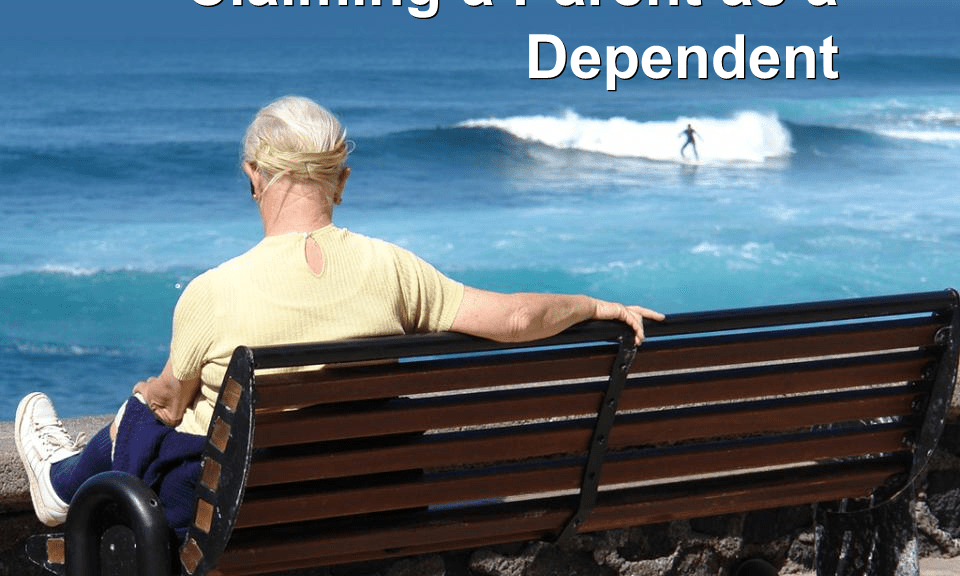 Claiming a Parent as a Dependent