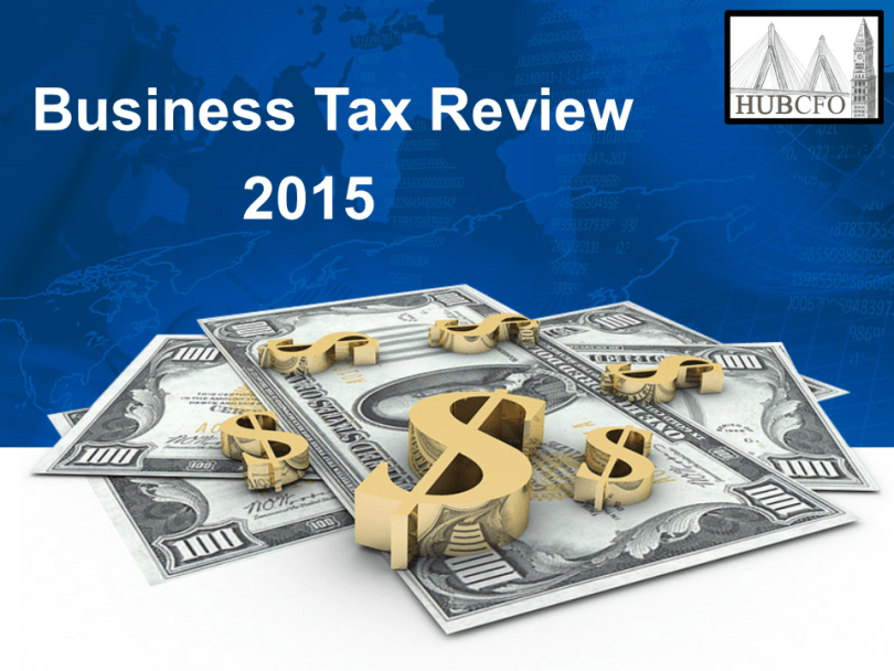 2015 Business Tax Review