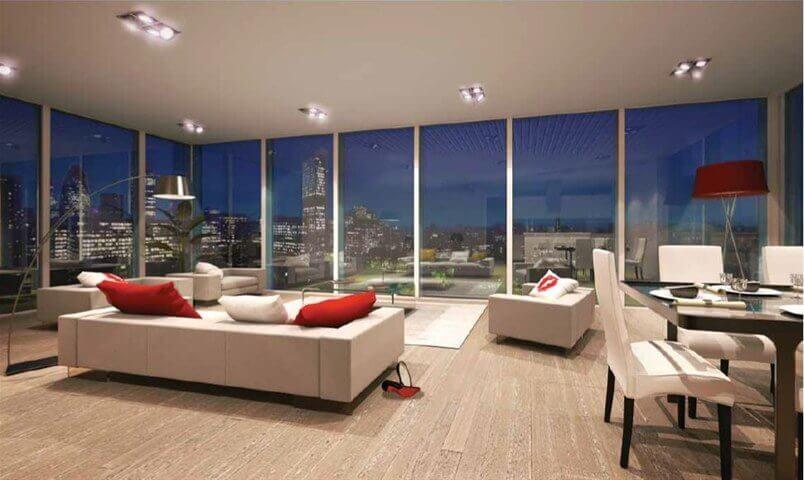Studio, 1 & 2 Bedroom Apartments for Sale in Avant Garde, E1 Development in London City Fringe