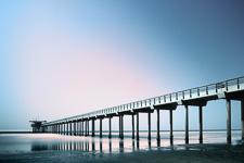 La Jolla Beach Pier - San Diego, California
