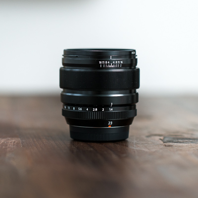 Fujinon XF 23mm f1.4R lens