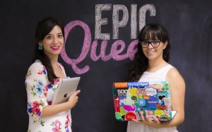 Daniela González y Ana Karen Ramírez, fundadoras de EpicQueen