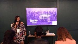 Comunidad TechWo en uno de los Chapters