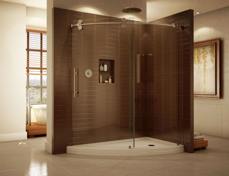 Large Of Glass Shower Walls