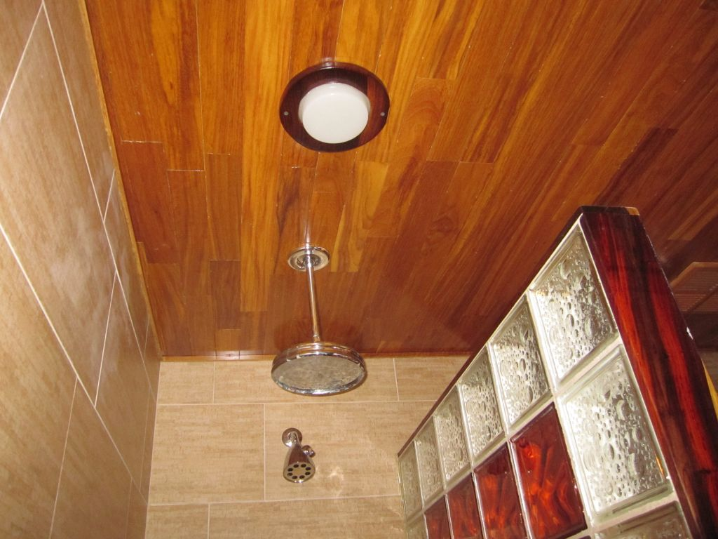 Fullsize Of Teak Shower Floor