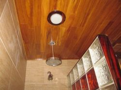 Small Of Teak Shower Floor