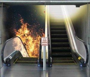 caminho para o inferno