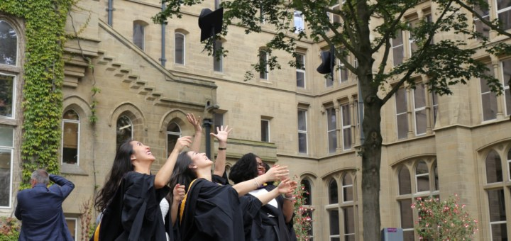 Graduating after studying in the UK