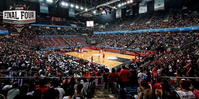 The Sinan Erdem Dome during EuroLeague 2012 Final Four