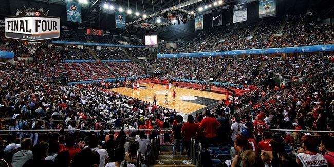 The Sinan Erdem Dome during EuroLeague 2012 Final Four