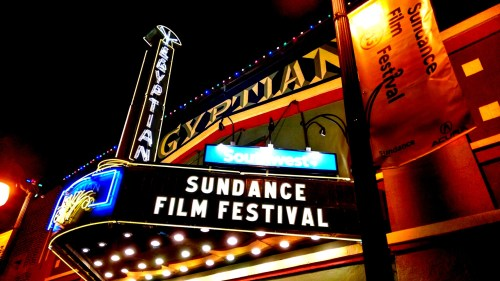 The Mary G. Steiner Egyptian Theatre, home base for Sundance features and short films.