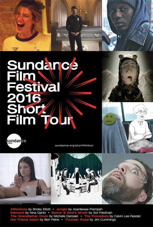2016 Sundance Film Festival Short Film Tour (short film and movie news)
