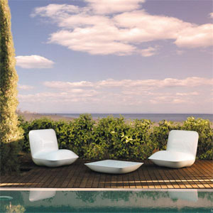 Fauteuils Pillow & Table Basse Pillow - Vondom