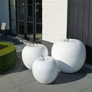 Sculptures Pommes Blanches