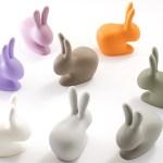 Rabbit, de la marque Qeeboo créée par Stefano Giovannoni, débarque sur Jardinchic.com !
