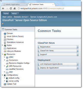 glassfish in cloud