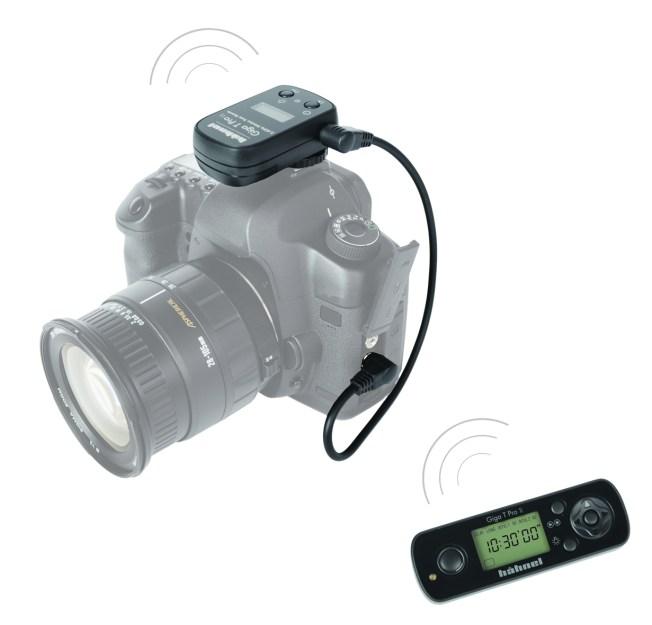 Hähnel Giga T Pro II – Telecomande sans fil pour Canon