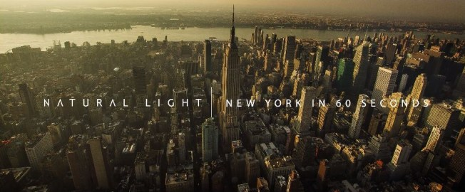 Natural Light : New York in 60s