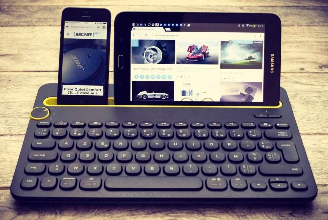 Test du clavier bluetooth Logitech K480, le clavier à tout faire