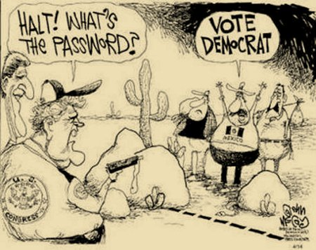 What's The Password? Democrat Voter Drive