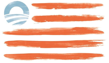 Obama's Flag - As Obama is a mockery of a man so too is his flag is a mockery of America's