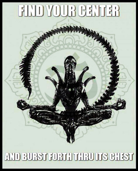 xenomorph + enlightenment = zenomorph