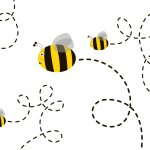 free-cute-bee-vector