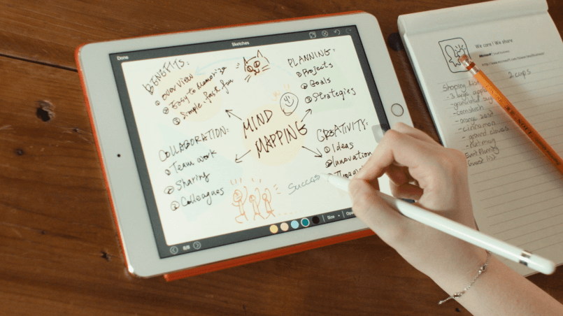 NoteLedge Apple Pencil iPad