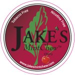 Jake's Mint Chew - Cherry