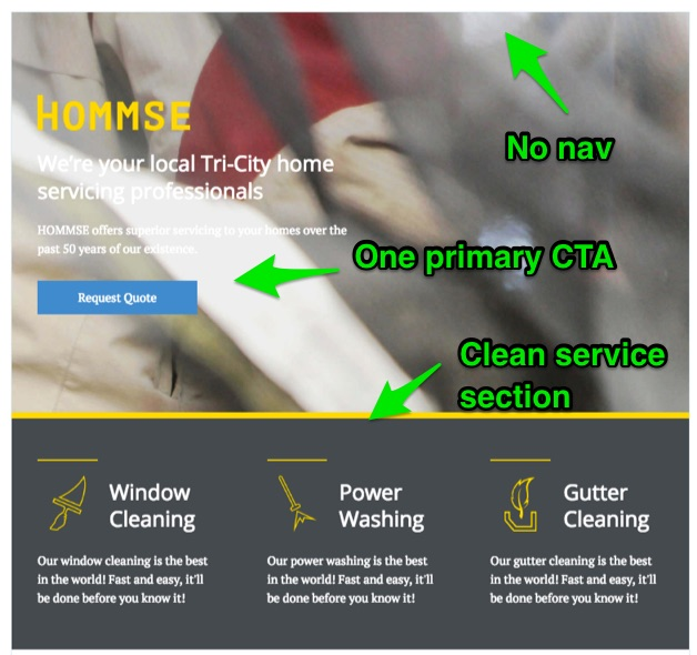 hommse-landing-page