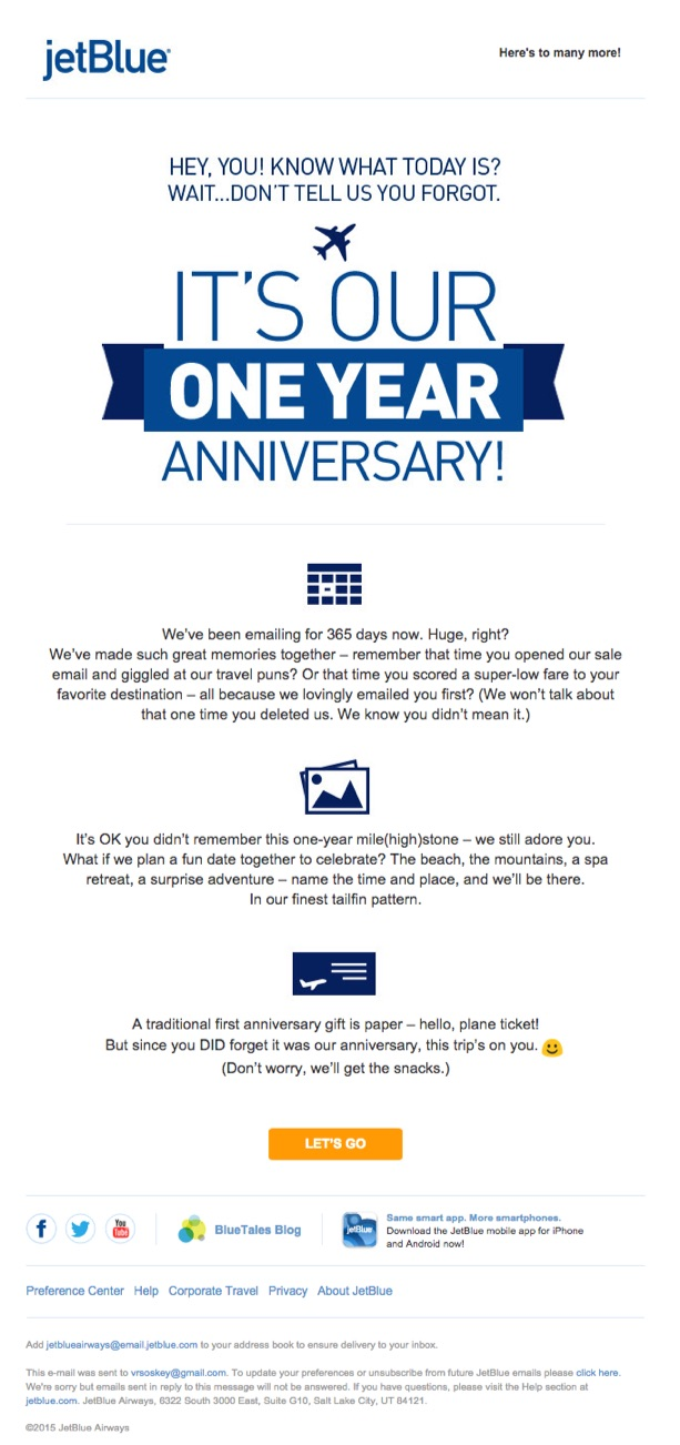 jetblue-happy-anniversary-email