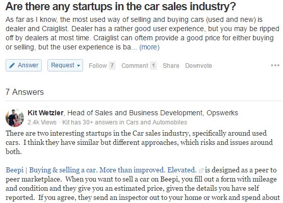 startups-in-the-car-industry-quora