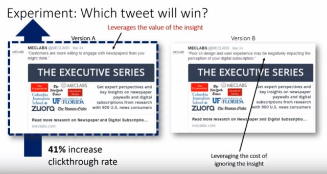 positive vs pain tweet
