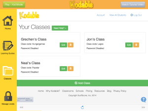Create more classes with Kodable Class