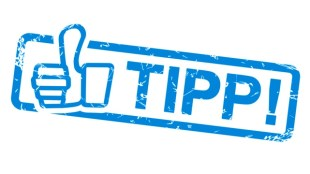 Stempel - Tipp