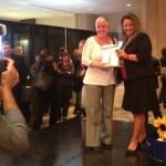 Gagnante du iPad offert par Lalema au congrès 2012 du RQRA